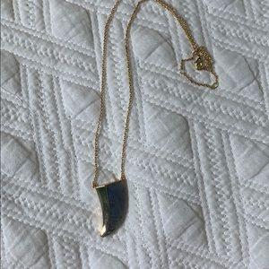 Stella & Dot horn necklace